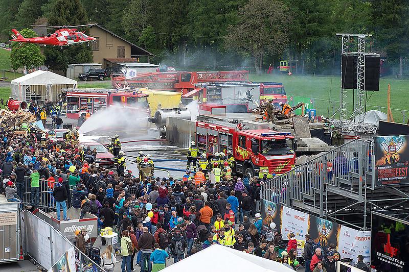 01 Internationales Feuerwehrfest Interlaken 2013